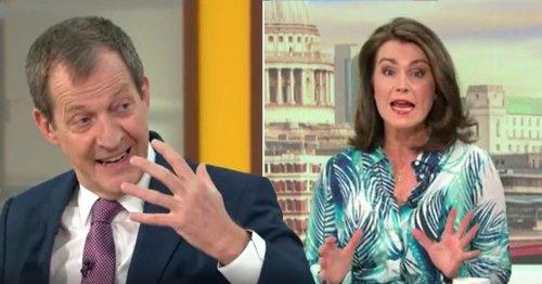 Susanna Reid calls out former Good Morning Britain host Alastair Campbell over Twitter rant: 'Hard disagree'