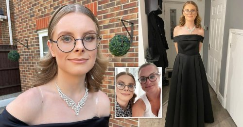 LinkedIn removed mum's proud post of her son coming out in prom dress