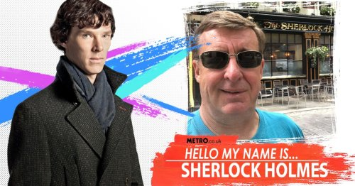 Both my dad and I are called Sherlock Holmes