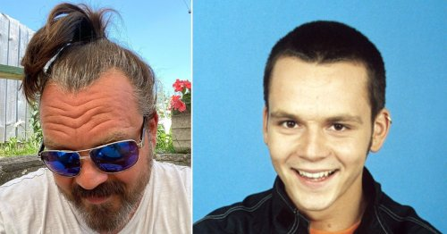 S Club 7's Paul Cattermole looks unrecognisable as he reveals new 'genie hair'