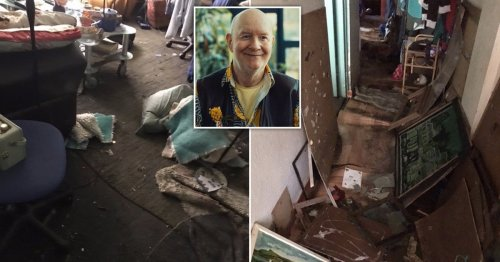 HIV campaigner, 72, has life left in ruins after flash floods destroyed his home