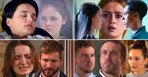 12 soap spoiler pictures: Coronation Street Alina left to die, EastEnders sex betrayal, Emmerdale baby trauma, Hollyoaks murder shock