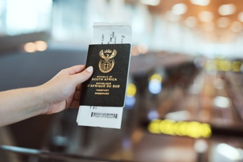 A South African passport allows entry to 103 countries visa-free