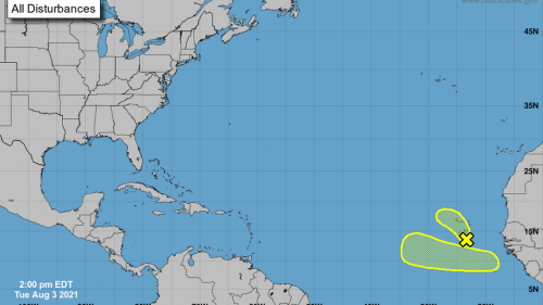 Now there are two. Hurricane center watching disturbances in the far eastern Atlantic