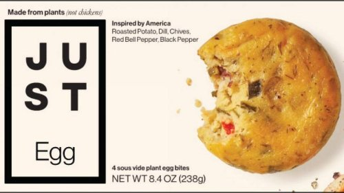 This plant-based egg-substitute snack might have egg. That's one reason for its recall
