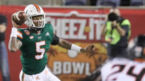 N'Kosi Perry's journey: secure immediate goal with Miami, then move on to next chapter