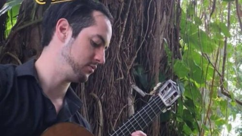 Composing with geometry: This Venezuelan guitarist makes music using a compass and a ruler
