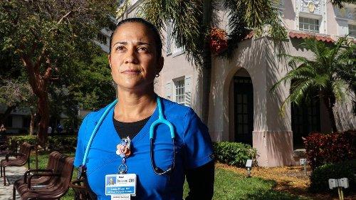COVID dejó cicatrices emocionales en los héroes sanitarios del sur de la Florida