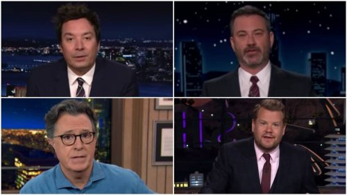 Late-night hosts react to Chauvin guilty verdict. 'Still a lot of work to be done'