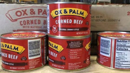297,000 pounds of imported canned meat was sent out nationwide without inspection