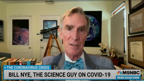 Unvaccinated people may be COVID variant 'incubators,' Bill Nye says: 'It's not fair'