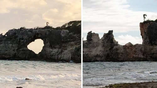 Puerto Rican natural wonder, Punta Ventana, collapses amid 5.8 magnitude earthquake
