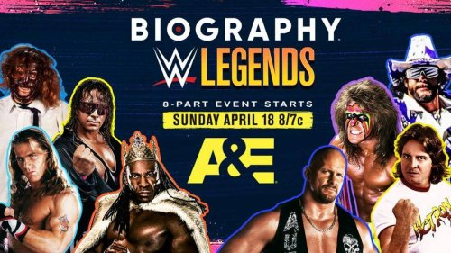 Booker T is on two new WWE TV series on A&E. One is co-hosted by WWE rookie A.J. Francis