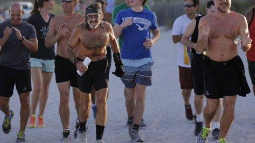 Miami Beach man celebrates 40 years of daily run