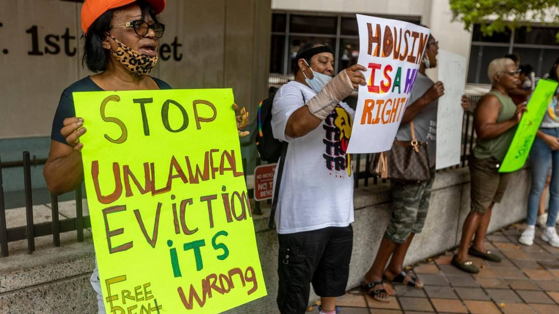 'Avalanche': Miami renters brace for mass evictions as moratorium ends