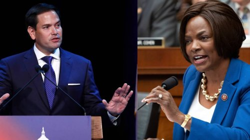 A strong Black woman challenging him, Marco Rubio claims that identity politics are Marxism | Opinion