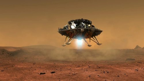 El rover Zhurong de la misión china Tianwen–1 aterriza en Marte