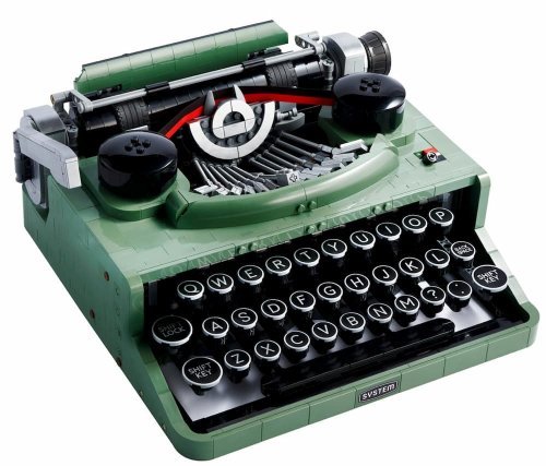Una máquina de escribir de Lego que casi funciona