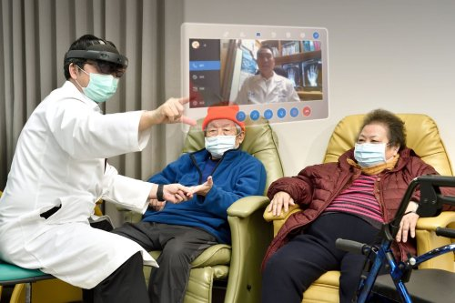 HoloLens and house calls: Telehealth technology delivers virtual consultations