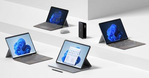 Microsoft stellt neues Surface Portfolio für Windows 11 vor