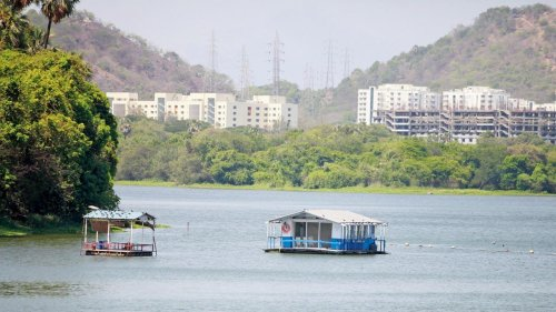 Mumbai Rains: Powai lake overflows due to heavy rains