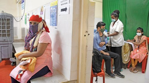 55 per cent people in Navi Mumbai get first shot