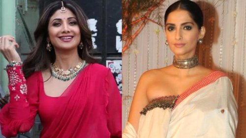Navratri 2021: Shilpa Shetty, Sonam Kapoor Ahuja dish out purple outfit inspiration