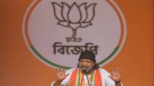Actor and BJP leader Mithun Chakraborty questioned by Kolkata police over 'inciteful speech'