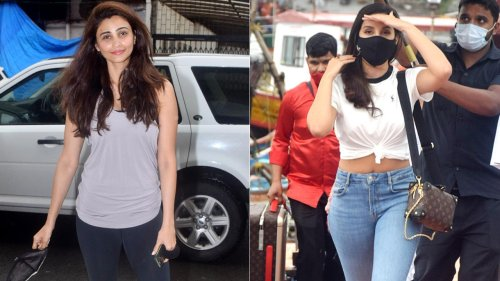 Nora Fatehi, Daisy Shah and Sonali Bendre clicked in city