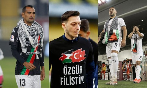These are the footballers who shared solidarity messages with Palestine