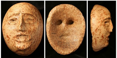 How the world's oldest masks tell a story of Palestinian dispossession