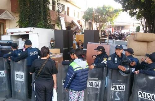 Desalojan a habitantes de edificio en la GAM
