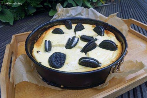 Cheesecake mit Schoko-Keksen - Ein einfacher und leckerer Käsekuchen* - Mimis Foodblog