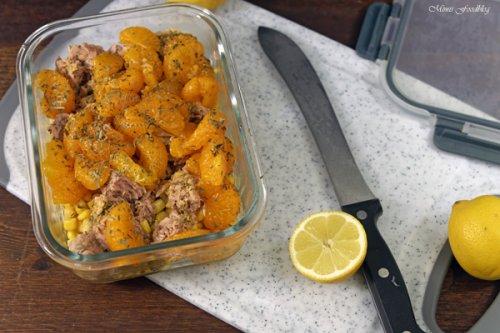 frischer Thunfisch-Maissalat ~ Meal Prep ganz easy* - Mimis Foodblog