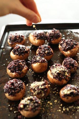 Vegan Stuffed Mushrooms   Minimalist Baker Recipes