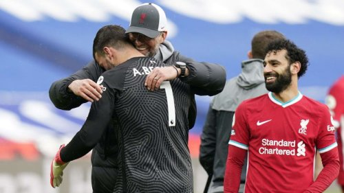 Jurgen Klopp compares Alisson to Chelsea striker after last-minute winner