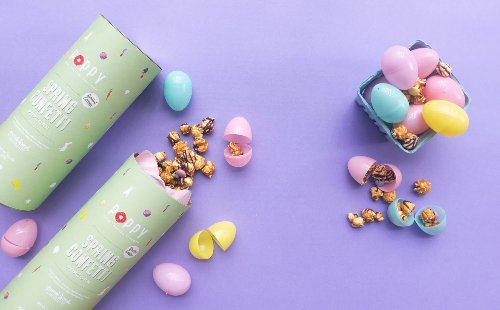 Poppy Hand-Crafted Popcorn is perfect for your adult Easter basket, Mother's Day and more