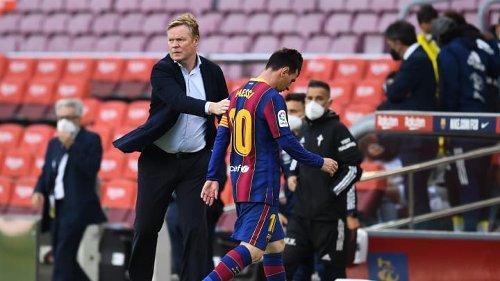 Usai Tersingkir dari Persaingan Juara La Liga, Koeman Rayu Messi Bertahan di Barcelona