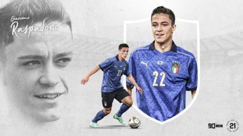 90min's Our 21: Sassuolo and Italy's Giacomo Raspadori
