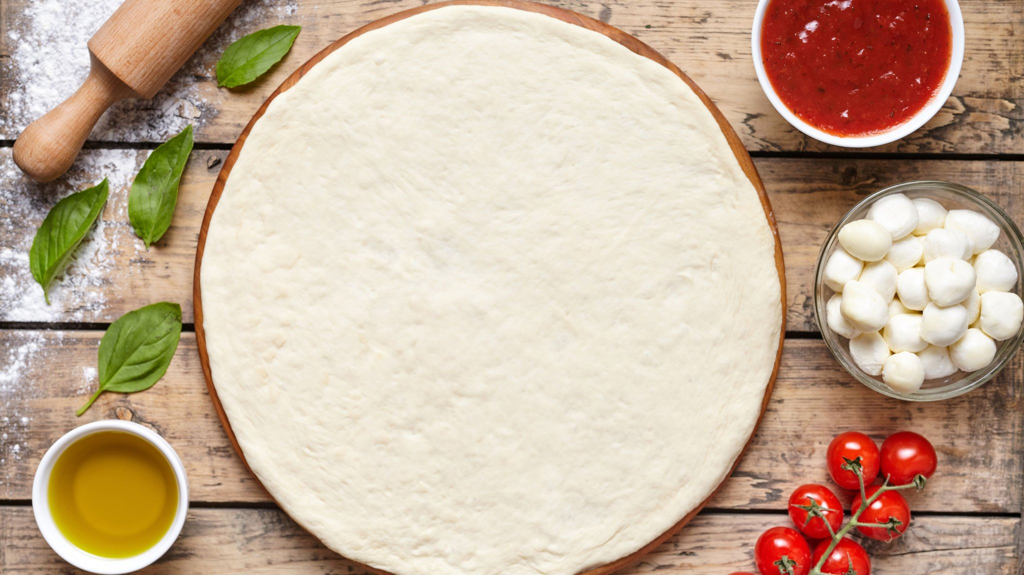 This Amazing Pizza Dough Recipe Has Just Three Ingredients, No Kneading Required