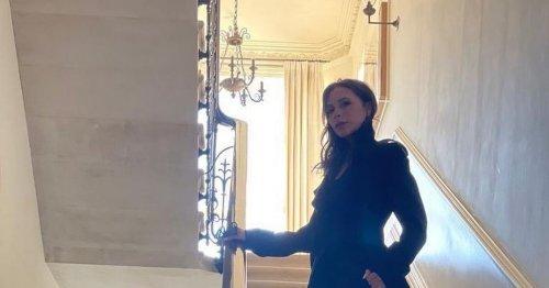 Victoria Beckham gives sneak peek inside luxurious £31m home with leggy snap