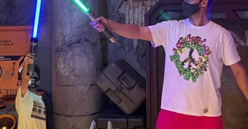 Justin Timberlake and rarely seen son Silas have a blast at Disney World