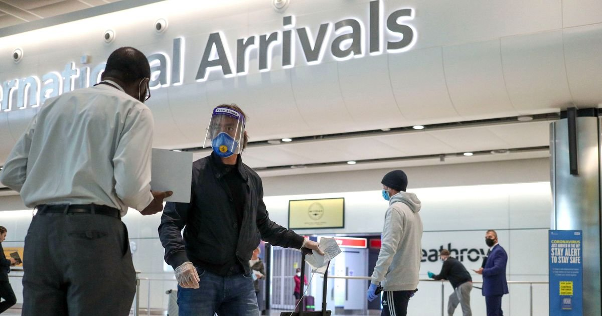 Unjabbed 'to quarantine for 10 days' when they return to UK in travel shake-up