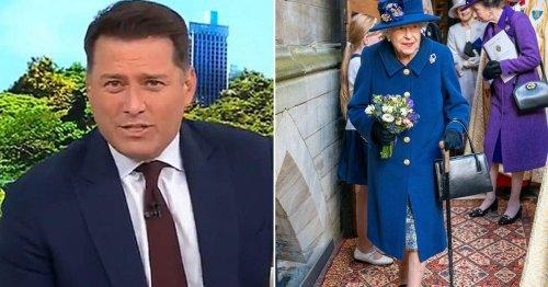 Aussie TV host makes crude joke about the Queen using walking stick