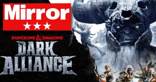 Dungeons & Dragons Dark Alliance: Rolls the dice but isn't enough to hit