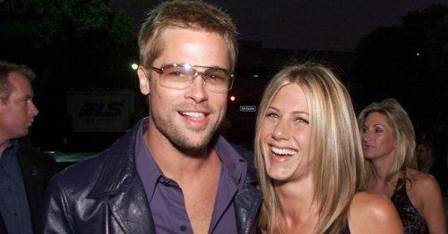 Brad Pitt and Jennifer Aniston's wedding before fairytale turned to nightmare