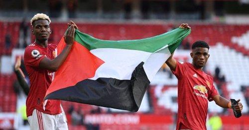 Israel striker criticises Man Utd pair's support for Palestine