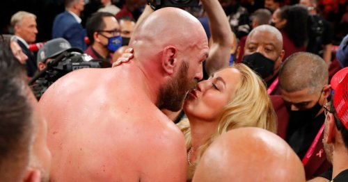 Tyson Fury's wife Paris sets retirement deadline for world champion