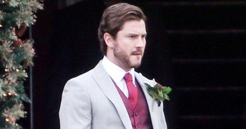 Eastenders killer Gray Atkins stood up as cast film 'double wedding scenes'