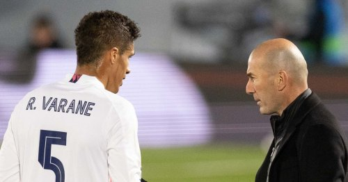 Raphael Varane's thoughts on Zinedine Zidane reunion as he's linked with Man Utd